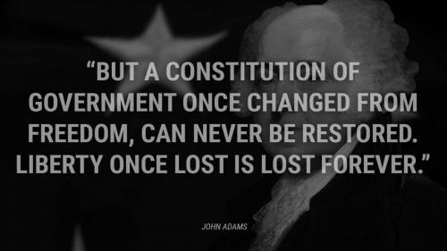Don't give up Liberty